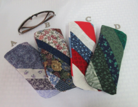 Glasses Case - Quilted