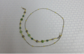 32-A in Green Agate