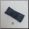 B - Soft Fabric Eyeglass Case in Denim Flowers