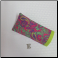E - Soft Eyeglass Case in Pink Lime Paisley