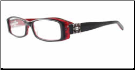 840-CL in Black Red (C/F)