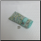 D - Soft Fabric Eyeglass Case in Aqua