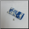 E - Soft Fabric Eyeglass Case in Blue Pottery