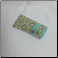 F- Soft Fabric Eyeglass Case in Grey Yellow