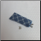 B - Soft Glasses Case in Blue Lattice