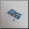 B - Soft Fabric Eyeglass Case in Blue Yellow Dasies