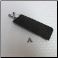 A - Felt Glasses Case in Charcoal