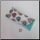 D - Flannel Eyeglass Case in Hearts
