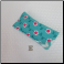 E - Flannel Eyeglass Case in Flower Chain