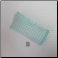 B - Soft Eyeglass Case in Aqua Houndstooth