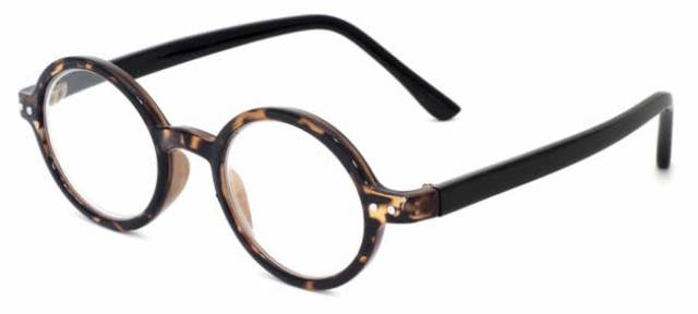 421 in darktortoise shell reading glasses lens